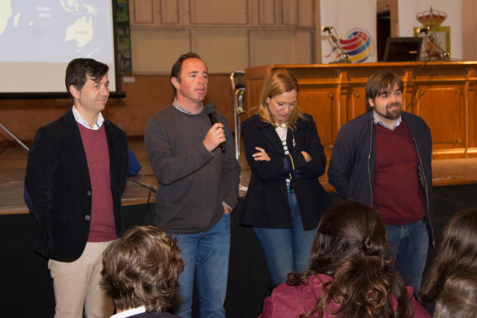 Presentados en La Merced los primeros trabajos escolares sobre la Primera Vuelta al Mundo