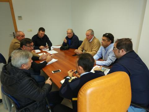 La reunión de la mesa de emergencias se ha celebrado a las 13.00 horas.