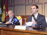Alfonso Guerra fue presentado por Víctor Mora. (Foto: Nicolás G. Becerra)