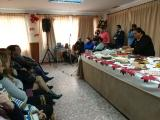 El alcalde presenció las actuaciones y concurso de repostería (foto: Mariqui Romero)