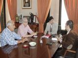 Reunión con ASEHA (Foto: Mariqui Romero)