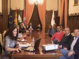 El alcalde presidió la reunión con los colectivos de la cudad