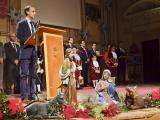 El alcalde presentó la campaña navideña en el auditorio de La Merced. (Foto: Nicolás G. Becerra)